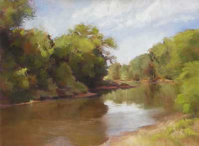 River at Pilgrim Ranch