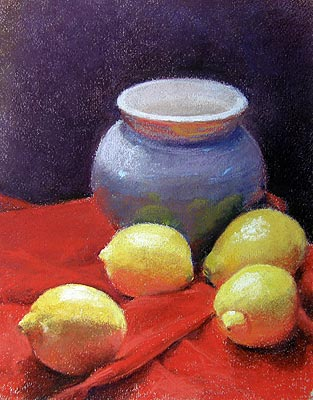 Lemons on Red